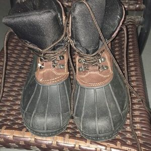 Mans totes boots
